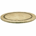 Atcostone 36'' Round Table Top in Sand Beige
