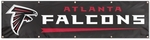 Atlanta Falcons Giant 8' x 2' Banner [BAT-FS-PAI]
