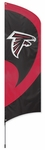 Atlanta Falcons Tall Team Flag w/ Pole [TTAT-FS-PAI]