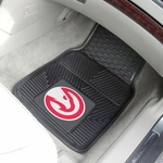 Atlanta Hawks Vinyl Car Mat 2 Pc 18'' x 27'' [9201-FS-FAN]