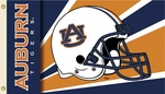 Auburn Tigers 3' X 5' Flag with Grommets - Helmet Design [35345-FS-BSI]