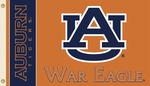 Auburn Tigers 'War Eagle' 3' X 5' Flag with Grommets [95545-FS-BSI]