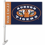 Auburn Tigers 'War Eagle' Car Flag with Wall Brackett [97345-FS-BSI]