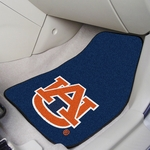 Auburn University Team Logo Carpet Car Mat 2 Pc 18'' x 27'' [5079-FS-FAN]