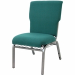 Auditorium Steel Frame Fabric Upholstered Stacking Chair [105X0-MCC]