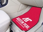 Austin Peay State University 2-piece Carpeted Car Mats 18'' x 27'' [5187-FS-FAN]