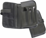 Automobile Organizer - Genuine Leather - Black