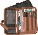 Automobile Organizer - Genuine Leather - Tan