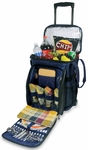 Avalanche Picnic Cooler - Navy with Plaid [538-38-915-000-0-FS-PNT]