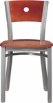 Avalon Metal Chair with Circle Back [183-FS-CMF]