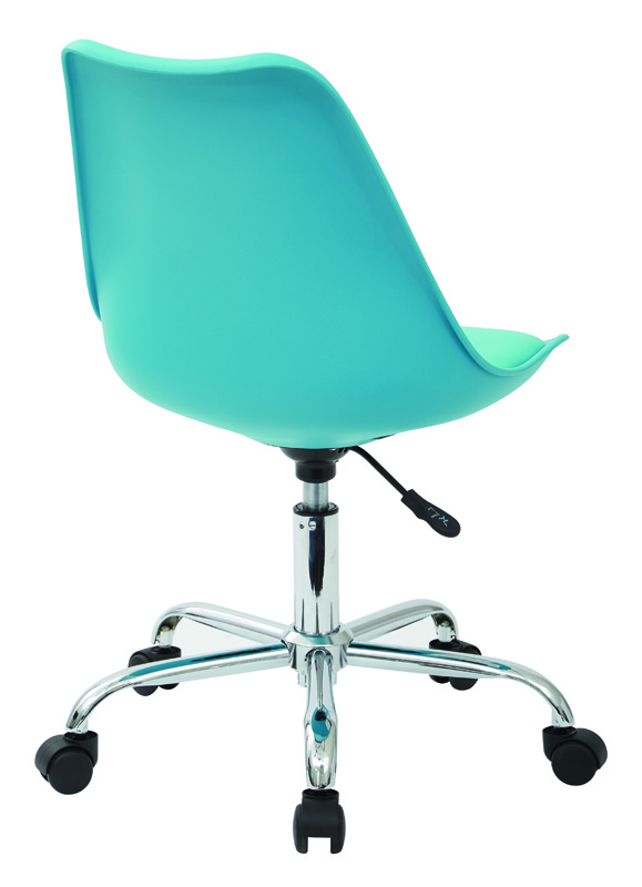 Ave Six Emerson Armless Task Chair with Chrome Base and  : ave six emerson task chair in teal with pneumatic chrome base ems26 7 fs os 6 <strong>Ergonomic</strong> Desk Chairs from www.bizchair.com size 579 x 800 jpeg 643kB