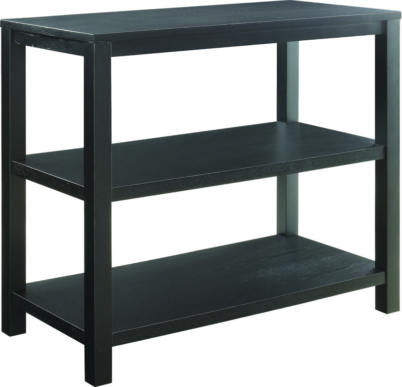 Ave six merge foyer table with shelves and solid wood legs - Table induction 4 foyers ...