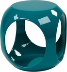 Ave Six Slick Modern Cube Occasional Table - Blue [SLK7-FS-OS]