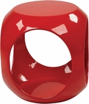 Ave Six Slick Modern Cube Occasional Table - Red [SLK9-FS-OS]