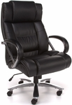 Avenger 500 lb Capacity Big & Tall Executive High-Back Chair - Black [810-LX-FS-MFO]