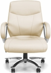 Avenger Series Big & Tall Executive Mid-Back Chair - Cream [811-LX-CRM-FS-MFO]