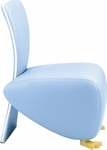 Baby Bobo Single Seat Lounge Chair with Upholstered Back [BO3149UBR-FS-DV]