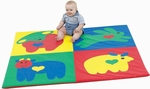 Baby Love Activity Mat - 60''L x 60''W x 1''H [CF322-045-FS-CHF]