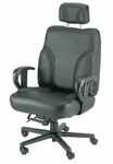 Backsaver Office Chair in Leather [OF-BACKSVR-L-FS-ARE]