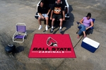 Ball State University Tailgater Rug 60'' x 72'' [4288-FS-FAN]