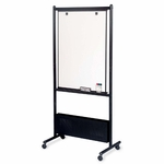 Balt Nest Easels - Double Sided - 31 -1/2'' x 24'' x 72'' - Black [BLT33421-FS-SP]