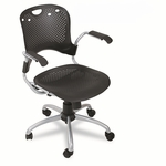 BALT® Circulation Series Task Chair,Black,25''w x 23-3/4''d x 37-3/4''h [BLT34552-FS-NAT]