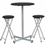 Bar Height Table and Stool Set [YB-YJ987-GG]