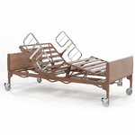 Electric Bariatric Bed with Steel Frame - 600 lb Capacity [BAR600IVC-FS-CARE]
