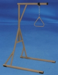 3 Position Locking Bariatric Floor Stand with Trapeze [BARTRAP-FS-CARE]