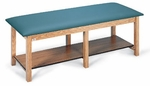 Bariatric Treatment Table in Natural Oak - 30''W X 78''L X 26''H [HAU-4086-FS-HAUS]