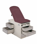 Basic Exam Table (w/ Pneumatic Back) [4000-BRW]
