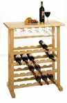 Basics 24-Bottle Wine Rack [83024-FS-WWT]
