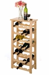 Basics 28-Bottle Wine Rack [83028-FS-WWT]
