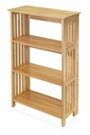Basics 4 Shelf Folding Shelf [82427-FS-WWT]