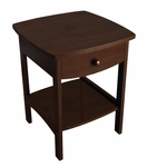 Basics Curved Night Stand in Walnut [94918-FS-WWT]