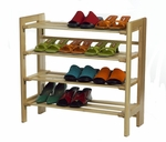 Basics Shoe Rack [81228-FS-WWT]