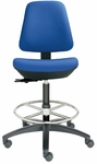 Basis I Tall Back Swivel Stool [BL1310-680N-FS-DV]