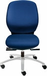 Basis II Medium Back Swivel Chair [BL1310P-FS-DV]