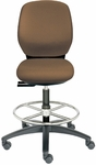 Basis II Medium Back Swivel Stool [BL1310-660P-FS-DV]