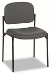 Basyx® Armless Guest Chair,  Charcoal Gray [BSXVL606VA19-FS-NAT]