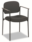Basyx® Guest Chair with Arms,Black [BSXVL616VA10-FS-NAT]