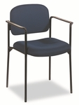 Basyx® Guest Chair with Arms,  Blue [BSXVL616VA90-FS-NAT]