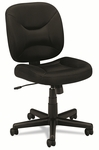 basyx® VL210 Series Mesh Low-Back Task Chair - Black [BSXVL210MM10-FS-NAT]