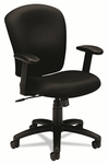Basyx® VL220 Mid-Back Task Chair,  Black [BSXVL220VA10-FS-NAT]