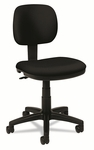 Basyx® VL610 Series Swivel Task Chair,Black Fabric/Black Frame [BSXVL610VA10-FS-NAT]