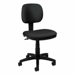 Basyx® VL610 Series Swivel Task Chair - Charcoal Fabric/Black Frame [BSXVL610VA19-FS-NAT]