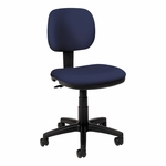 Basyx® VL610 Series Swivel Task Chair - Navy Fabric/Black Frame [BSXVL610VA90-FS-NAT]