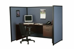 Baxter Privacy Partition - Three Panels with End Legs [6072-6048-6048-AOC]