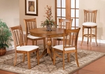 Bayberry Wood 44'' Diameter Round Dining Table - Oak [4766DTB-FS-HILL]