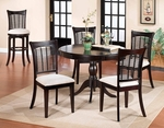 Bayberry Wood 44'' Diameter Round Dining Table - Dark Cherry [4783DTB-FS-HILL]